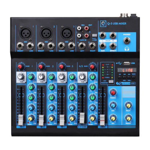 Q5 USB Mixer MK2